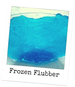 Frozen-inspired Flubber - easy to make using household ingredients
